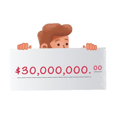 Premios de Mega Millions