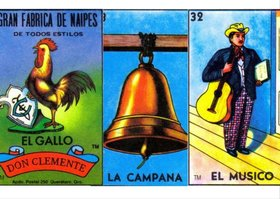 cartas gallo campana y musico