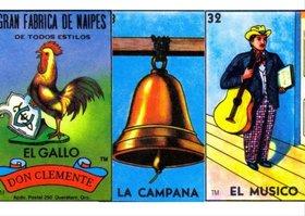 cartas gallo campana y musico