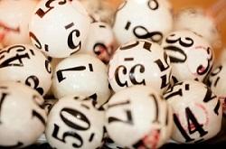 bolas de lotería