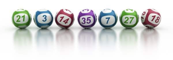 bolas de loteria